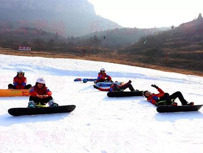 欧博allbet 知道营地5天4夜单板滑雪冬令营